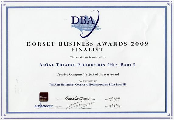 AsOne Awards – AsOne Theatre Company
